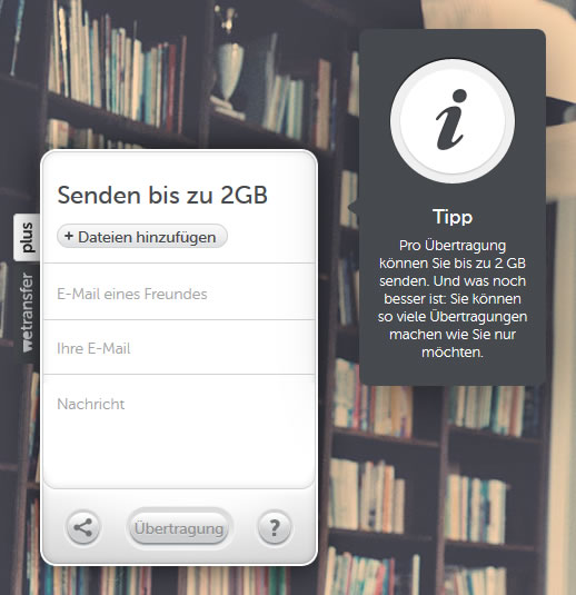 wetransfer-ansicht