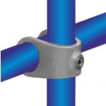 Freistehender Alu-Bannerrahmen für Bautafeln - Detail 5