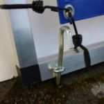 Mobile Bandenwerbung Bannerrahmen-Stecksystem - Detail 1