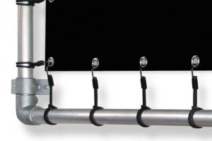 Bannerrahmen Wand Detail 1