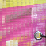 Mesh-Banner 330 g/m² beidseitig bedruckt - Detail 2