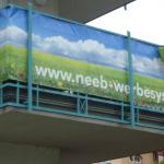 Balkon Sichtschutzblende