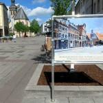 Aluminium-Bannerrahmen Stecksystem für Schilder