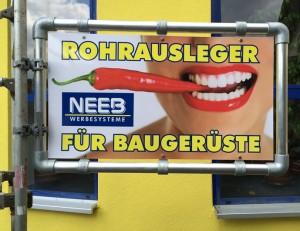 rohrausleger_baugeruest_schilder_aluminium_stecksystem