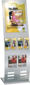 Info-Ständer - Display Prospektständer Ausführung Breit