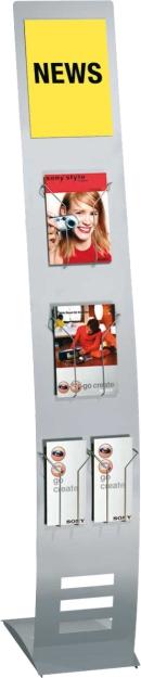 Info-Ständer - Display Prospektständer Ausführung Schmal