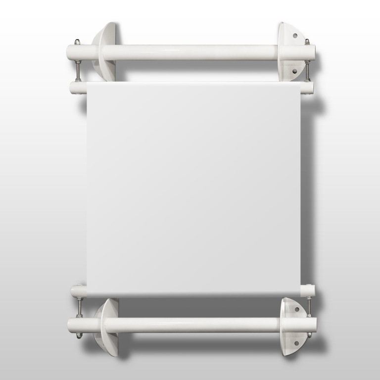 "Bannerhalter-Set ""Wand"" Stahl verzinkt"