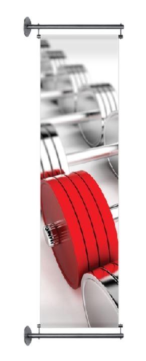 Bannerhalter-Set Fahnenausleger Edelstahl oder Stahl verzinkt