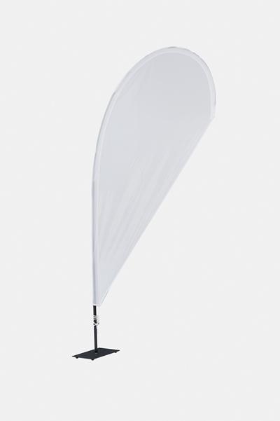 Beachflag - Tropfenform neutral
