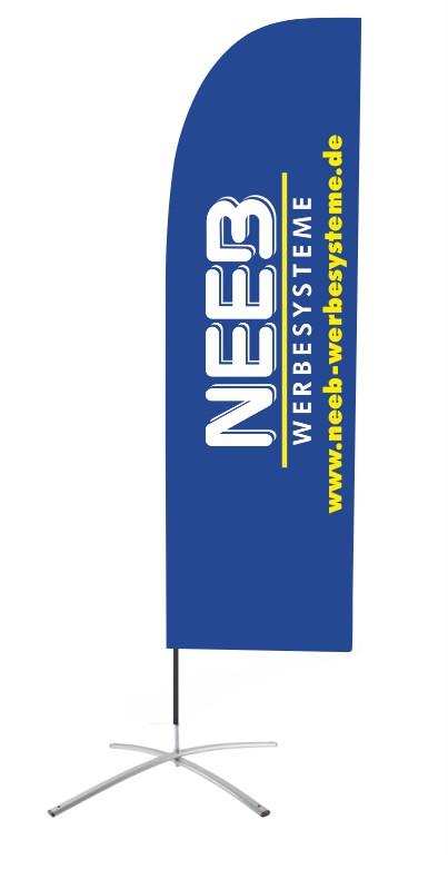 beachflag-segelform