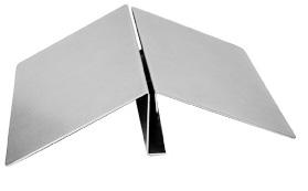 Plattenstandprofil aus Stahl
