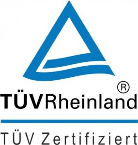Zertifikat TÜV Rheinland Logo