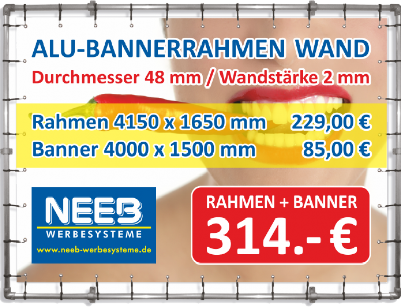 Alu_Bannerrahmen_Stecksystem_Wand_4150x1650_fuer_Banner_4000x1500