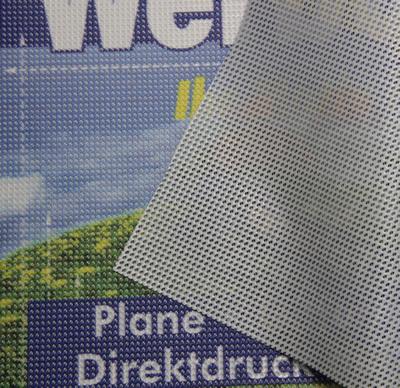 Gitternetzplane PVC-Mesh Premium B1 ca. 350 g/m²