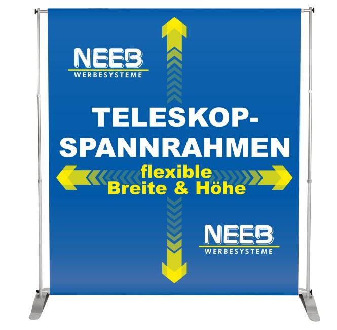 teleskopspannrahmen_textilbanner_hohlsaumbanner