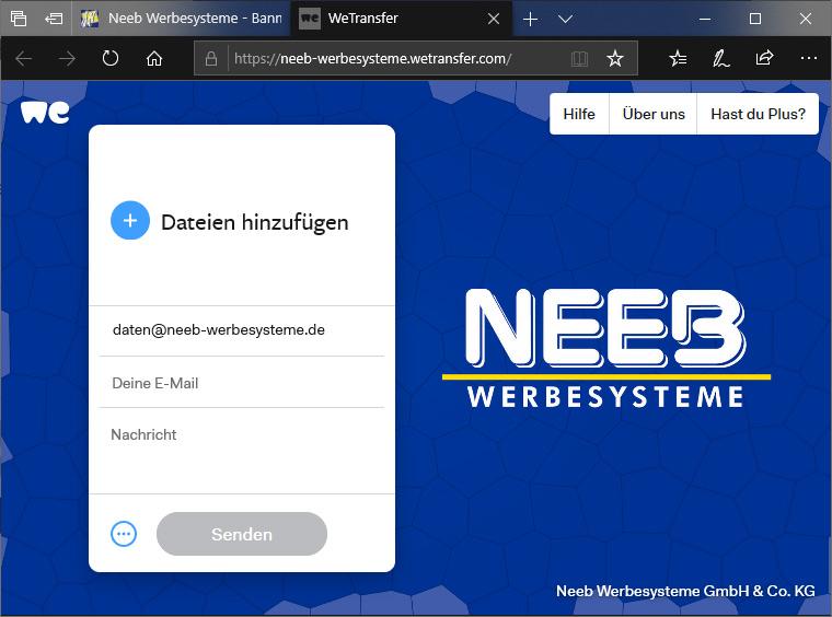 neeb-werbesysteme.wetransfer.com