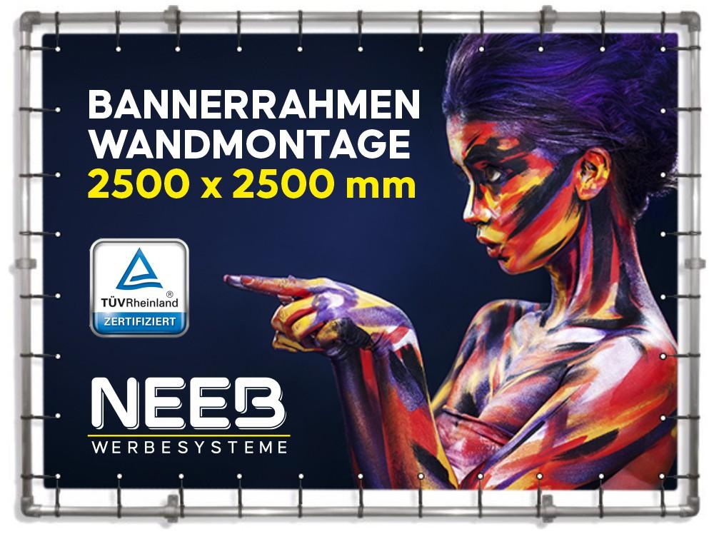 Bannerrahmen-Wand-Fassadenrahmen-2500×2500-Wandmontage