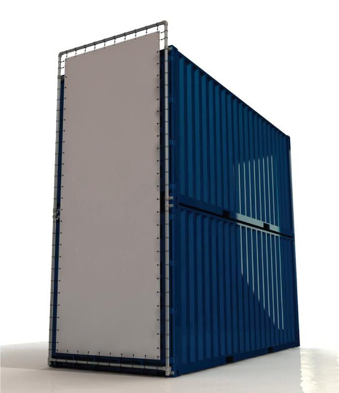 Containerrahmen-S200766-2-Container-lange-Seite-komplett-Bannerrahmen