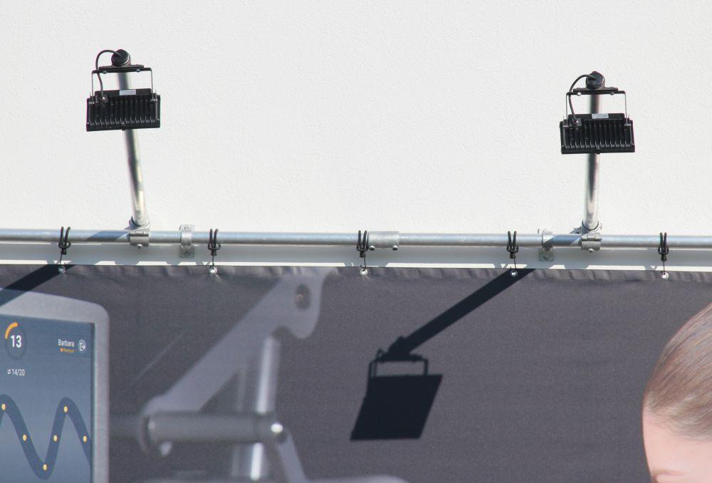 Zubehör Bannerrahmen Stecksysteme